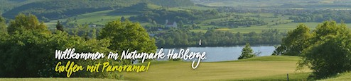 Golfclub Hassberge - Golfen mit Panorama!